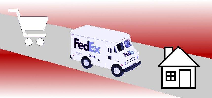 fedex truck